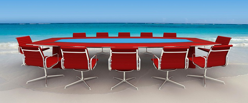 Refreshing Business Meeting